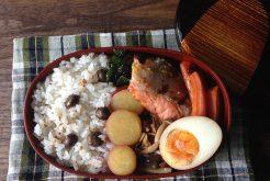 角田真秀さんのお昼ごはんのお弁当