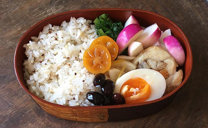 【2017/1/10】角田真秀さんのお昼ごはんのお弁当