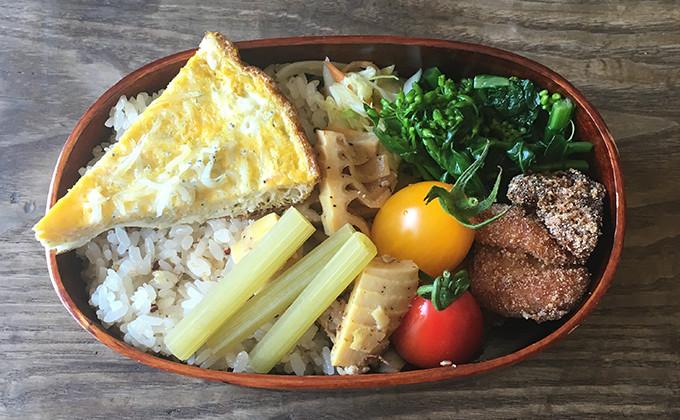【2017/5/9】角田真秀さんのお昼ごはんのお弁当