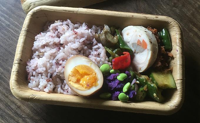 【2017/8/22】角田真秀さんのお昼ごはんのお弁当
