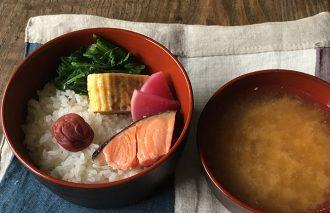 【2017/1/3】角田真秀さんのお昼ごはんのお弁当