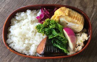 【2017/2/14】角田真秀さんのお昼ごはんのお弁当