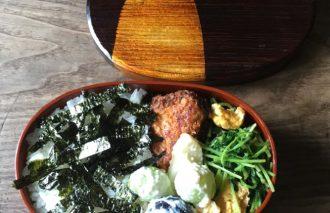 【2017/9/26】角田真秀さんのお昼ごはんのお弁当