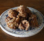 塩麹鶏の唐揚げ