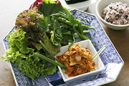ピリ辛豚の野菜いっぱい巻き