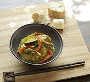 豚バラ肉とカボチャのココナッツカレー煮込み