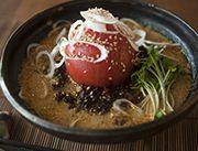 トマト担々麺