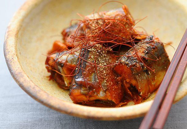 サンマの韓国風味噌煮