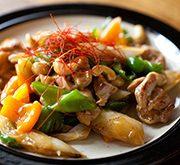ねぎと鶏肉の中華風あんかけ