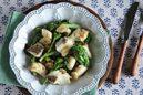 鯛と菜の花のマスタード焼