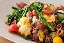 菜の花とホタルイカの炒め物