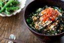 おぼろ豆腐丼