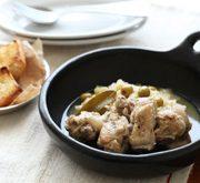 鶏とキャベツのビネガー煮
