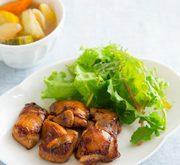 鶏のママレード照り焼き