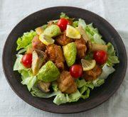 野菜と鶏肉の唐揚げ