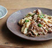 豚肉とたたきレンコンの味噌クミン炒め