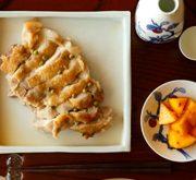 酒煮塩鶏 山椒風味
