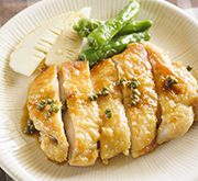 鶏のくわ焼き山椒風味