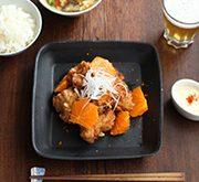鶏の唐揚げ オレンジマヨネーズソース