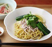 タイ風の汁なし麺