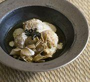 うずらの卵入り肉団子柚子こしょう煮