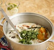 冬野菜のココナッツミルク鍋