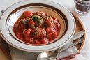 ミートボールのハニートマト煮