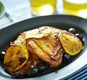 鶏のオーブン焼き モロッコ風