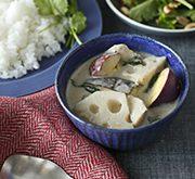 根菜のグリーンカレー
