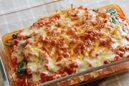 ホウレン草とツナの豆腐グラタン