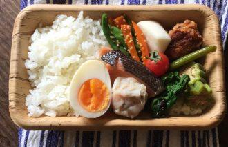 【2017/10/17】角田真秀さんのお昼ごはんのお弁当