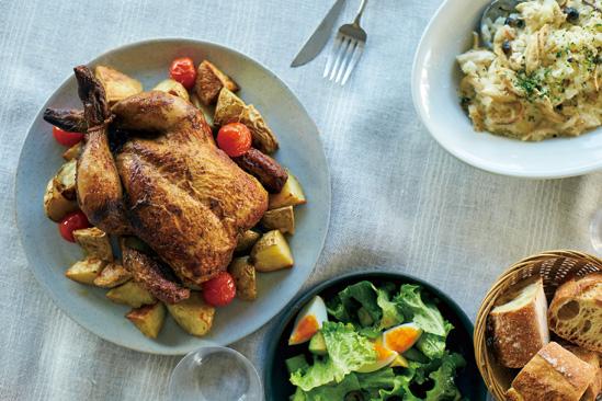 特別な日はもちろん、いつもの料理にも|「ザ・チキンマーケット」のロティサリーチキンを食卓へ