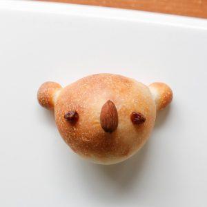 焼きあがったコアラのパン