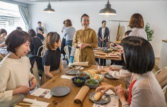 料理教室「春のお出かけバインミー」 &Kurashi「ホームドレス」先行試着会 イベントレポート