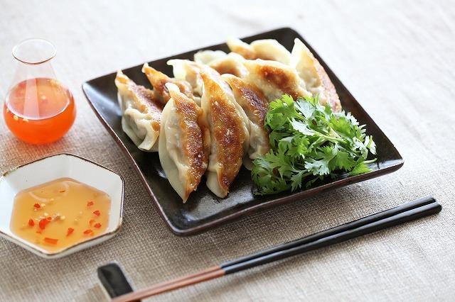 ラム香菜餃子