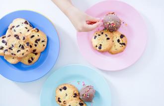「おやつのまかない アイスクリームと合わせて楽しめるチョコチップクッキー」藤吉陽子