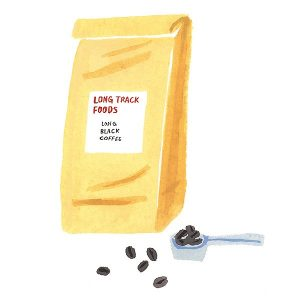 『LONG TRACK FOODS』のコーヒーやお菓子