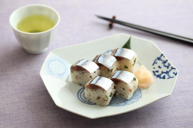 サンマの棒寿司