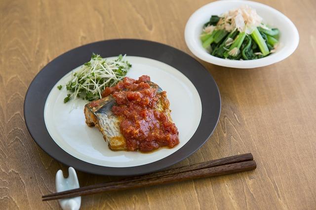 サバのトマト味噌煮