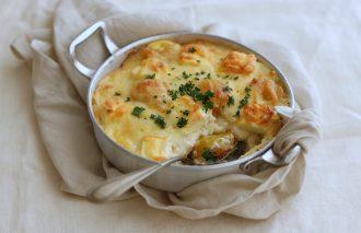 「わたしの胃袋ごはん 栗とクリームチーズのクリクリドリア」暮らし上手のたまごさん 山崎ぼぶ