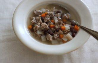 「わたしの胃袋ごはん 小豆と豚肉のコロコロスープ」暮らし上手のたまごさん 福田みなみ