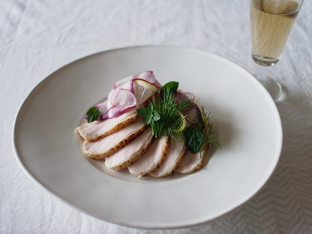 「わたしの晩酌 低温調理でしっとり鶏ハム」村山由紀子