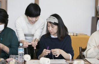 【Kurashiのマナビ舎第3弾】渡部まみさんのボッブル編みがま口ポーチ講座レポート