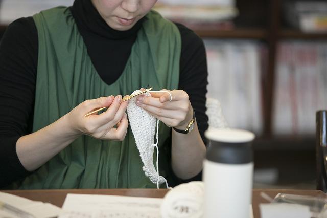 ボッブル編み