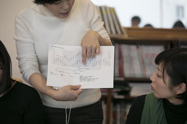 ボッブル編み教える先生