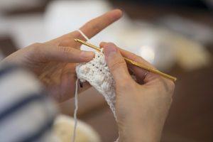 ボッブル編み段階2
