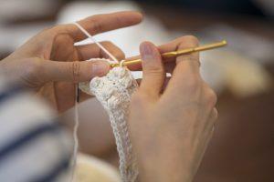 ボッブル編み段階3