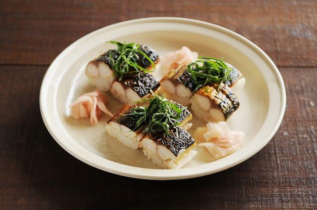焼きサバの棒寿司