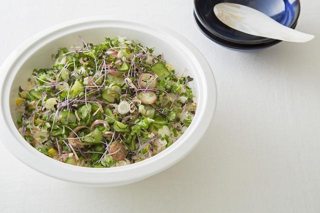 夏野菜の混ぜ寿司