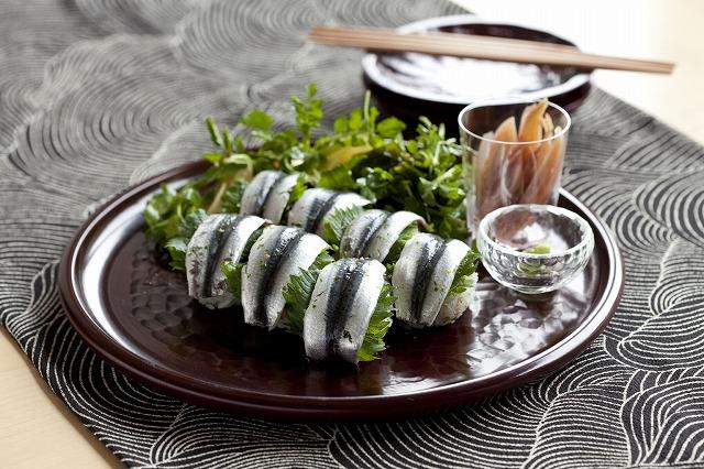 イワシの手鞠寿司